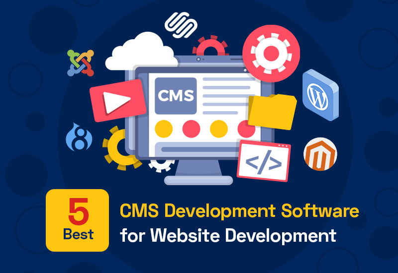 Best CMS Development Software for Website development