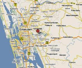 Ernakulam Map